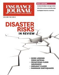 The Disaster Issue: Insuring Natural & Man-Made Catastrophes; Commercial Auto (including Taxis, Limos & Fleets); Digital Product Guide