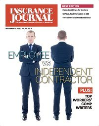 Top Workers' Comp Writers; Trucking; Residential Contractors