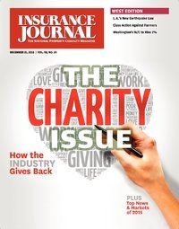 The Charity Issue - 10% of Net Sales Goes to IICF & City of Hope; Photos of Your Organization Involved in Charity Work; Insurance Heroes