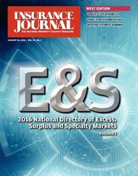 Excess, Surplus & Specialty Markets Directory, Volume I