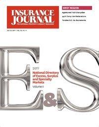 Excess, Surplus & Specialty Markets Directory, Volume II