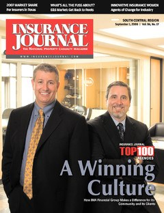 Insurance Journal South Central September 1, 2008