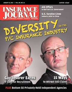 Insurance Journal South Central August 15, 2011