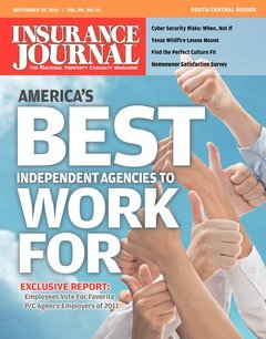 Insurance Journal South Central September 19, 2011