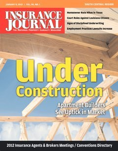 Insurance Journal South Central January 9, 2012