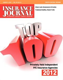 Insurance Journal South Central August 6, 2012