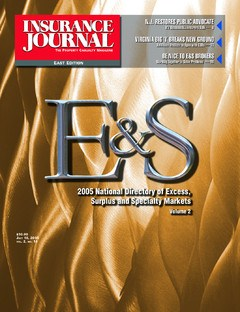 Insurance Journal East July 18, 2005