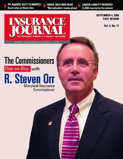 Insurance Journal East September 4, 2006