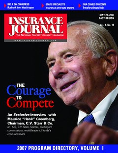 Insurance Journal East May 21, 2007