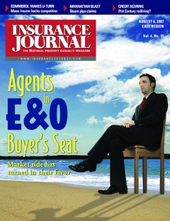 Insurance Journal East August 6, 2007