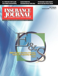 Insurance Journal East January 26, 2009