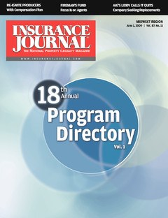 Insurance Journal East June 1, 2009