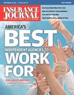 Insurance Journal East September 19, 2011