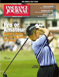 2nd Annual Insurance Golf Tournament Issue