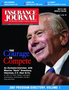 Insurance Journal Midwest May 21, 2007