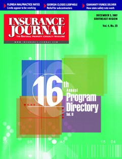 Insurance Journal Southeast December 3, 2007