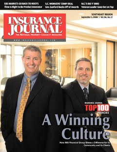 Insurance Journal Southeast September 1, 2008