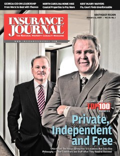 Insurance Journal Southeast January 12, 2009