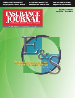 Insurance Journal Southeast July 20, 2009