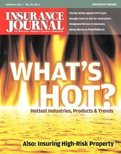 Insurance Journal Southeast March 21, 2011