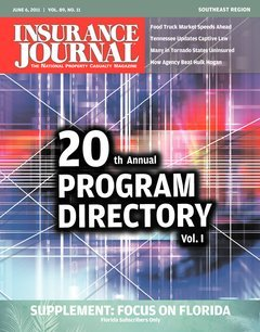Insurance Journal Southeast June 6, 2011