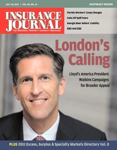Insurance Journal Southeast July 18, 2011
