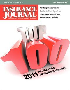 Insurance Journal Southeast August 1, 2011