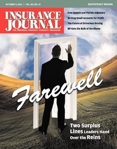 Insurance Journal Southeast October 3, 2011