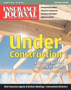 Insurance Journal Southeast January 9, 2012