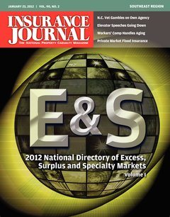Insurance Journal Southeast January 23, 2012