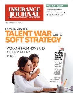Insurance Journal Southeast February 20, 2017