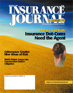After the Gold Rush: Insurance Dot-Coms Need the Agent - Cyberspace Cr