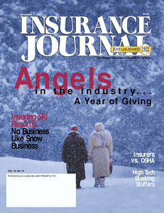 Angels in the Industry... a year of giving - Insuring Ski Resorts: No