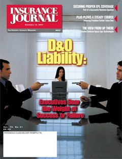 Insurance Journal West November 12, 2001