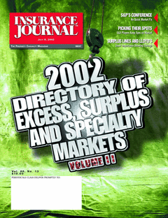 2002 Excess, Surplus and Specialty Markets Directory, Vol. I
