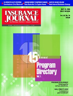 Insurance Journal West May 22, 2006