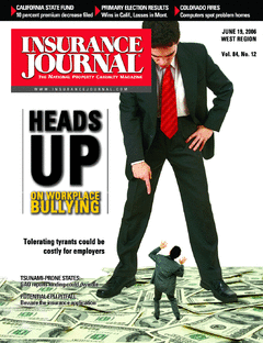 Heads up on workplace bullying