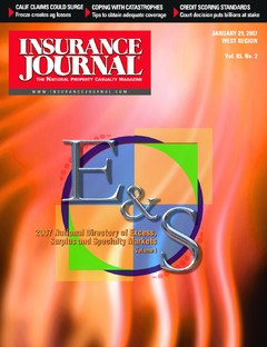 Insurance Journal West January 29, 2007