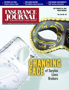 Insurance Journal West September 24, 2007