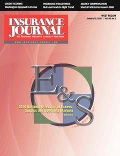 Insurance Journal West January 25, 2010