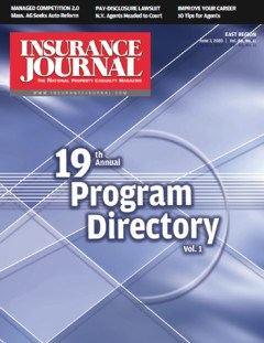 Program Directory, Vol I.; IBA West Young Agents & Brokers