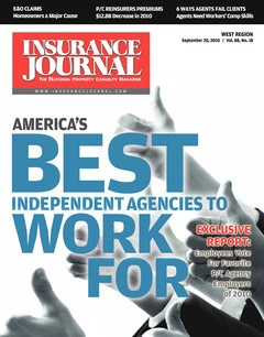 Professional Liability Directory; The Best Insurance Agencies to Work For; Employment/HR Issue