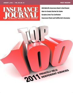 Insurance Journal West August 1, 2011