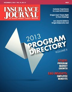 Insurance Journal West December 2, 2013